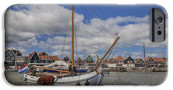 North Sea iPhone Cases - Volendam iPhone Case by Joana Kruse