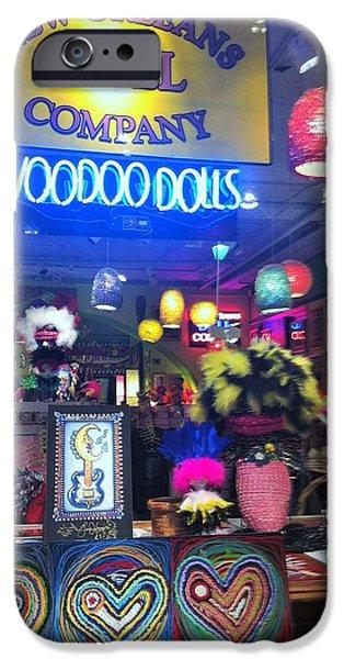 Voodoo Shop iPhone Cases - Voodoo Shop 2 iPhone Case by Roger Kinnaman