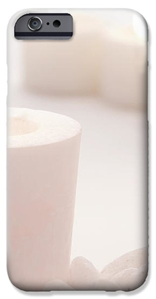 Votive Candle iPhone Case by Olivier Le Queinec