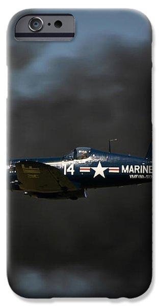 Vought F4U Corsair iPhone Case by Adam Romanowicz