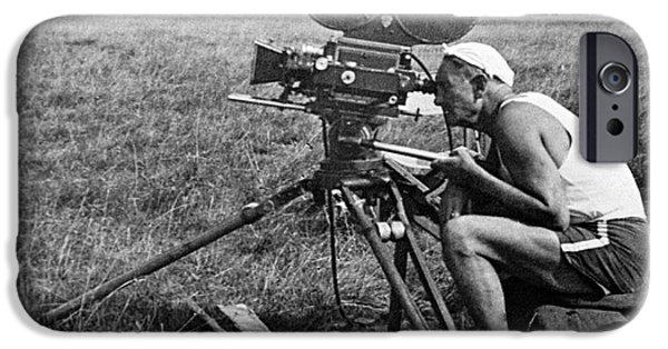 1950s Movies iPhone Cases - Vsevolod Pudovkin, Soviet Movie Maker iPhone Case by Ria Novosti