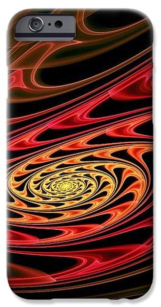 Vulcan Poetry iPhone Case by Anastasiya Malakhova