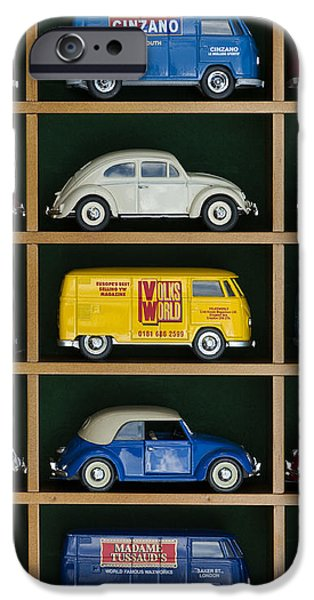 VW Collectors Toys iPhone Case by Tim Gainey