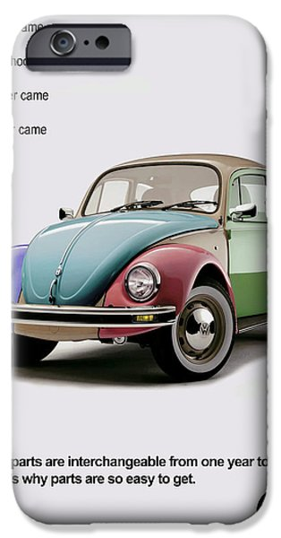VW Parts iPhone Case by Mark Rogan