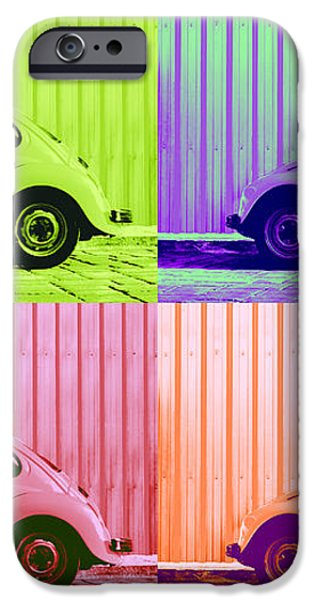 VW Pop Spring iPhone Case by Laura  Fasulo