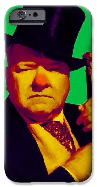 W C Fields 20130217p180 iPhone Case by Wingsdomain Art and Photography