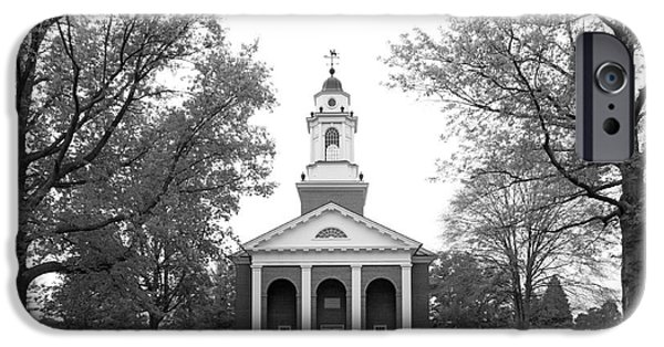 Honorarium iPhone Cases - Wabash College Chapel iPhone Case by University Icons