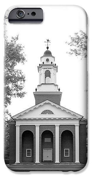 Wabash College Chapel iPhone Case by University Icons