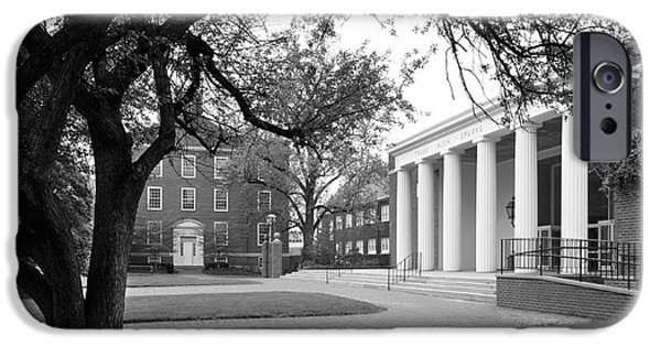 Liberal iPhone Cases - Wabash College Sparks Center iPhone Case by University Icons