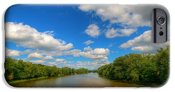 Indiana Rivers iPhone Cases - Wabash River iPhone Case by Alexey Stiop