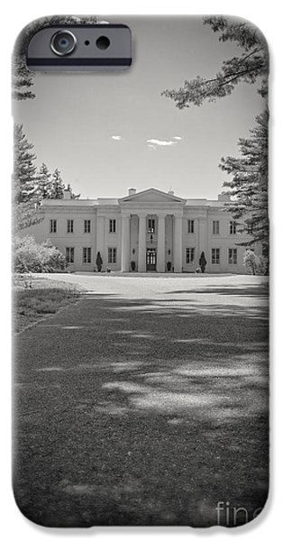 Furniture iPhone Cases - Wadsworth Mansion at Long Hill Middletown Connecticut iPhone Case by Edward Fielding