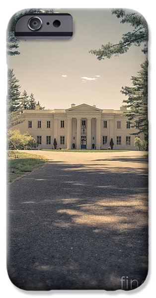 Mansion iPhone Cases - Wadsworth Mansion Middletown Connecticut iPhone Case by Edward Fielding