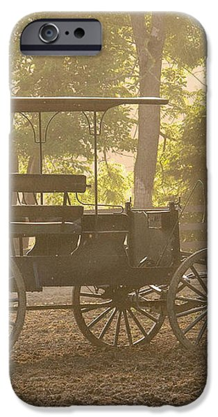 Wagon - Abe's Buggie iPhone Case by Mike Savad