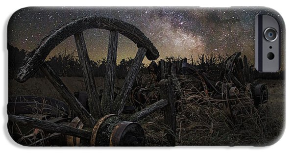 Dark Sky iPhone Cases - Wagon Decay iPhone Case by Aaron J Groen