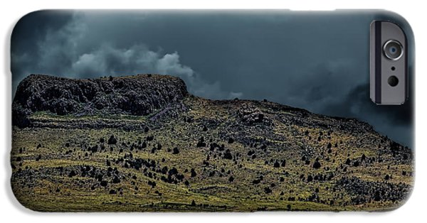 Mounds iPhone Cases - Wagon Mound iPhone Case by Jon Burch Photography