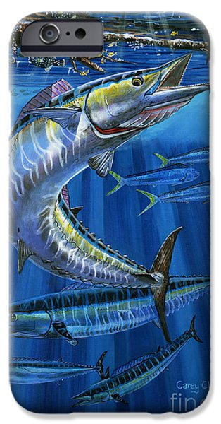 See iPhone Cases - Wahoo Rip Off0047 iPhone Case by Carey Chen