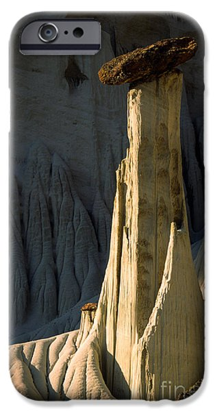 Otherworldly iPhone Cases - Wahweap Hoodoo iPhone Case by Inge Johnsson