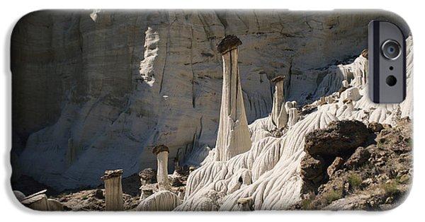 Wahweap iPhone Cases - Wahweap Hoodoos, Utah iPhone Case by Mark Newman