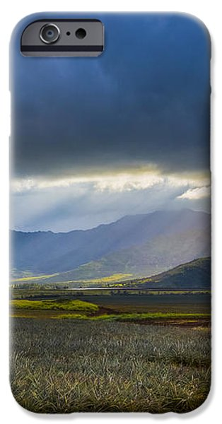 Waianae Mountains of Oahu Hawaii iPhone Case by Diane Diederich