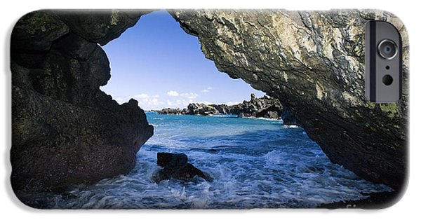 Recently Sold -  - Overhang iPhone Cases - Waianapanapa State Park iPhone Case by M Swiet Productions