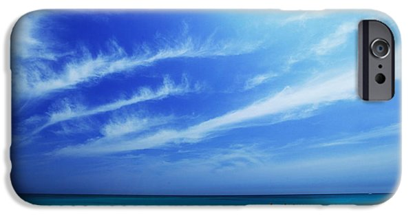Island Stays iPhone Cases - Waimanalo Beach Day iPhone Case by Atsushi Sugimoto