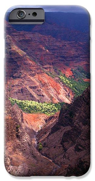 Waimea Canyon 3 iPhone Case by Brian Harig