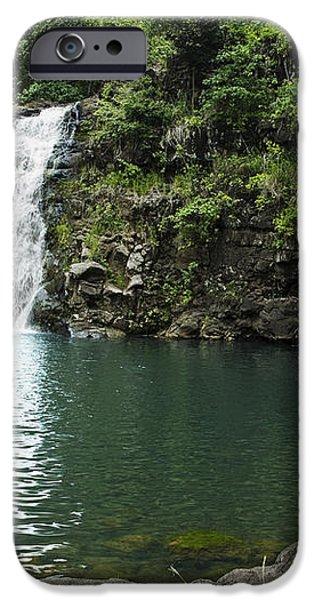 Waimea Falls iPhone Case by Charmian Vistaunet