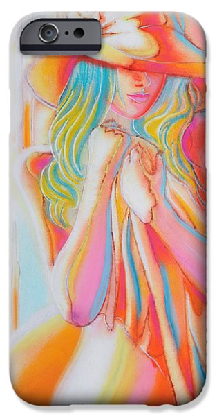 Vibrant Pastels iPhone Cases - Waiting For You 2 iPhone Case by Jose Espinoza