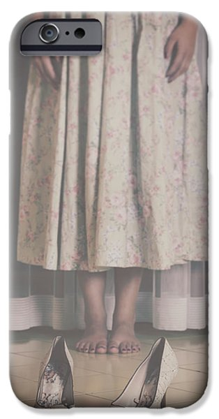 waiting ghost iPhone Case by Joana Kruse