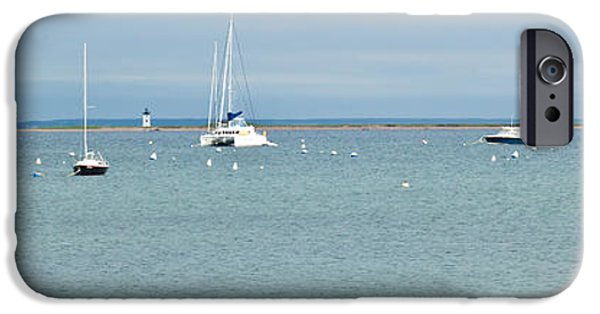 New England Lighthouse iPhone Cases - Waiting in Provincetown iPhone Case by Michelle Wiarda