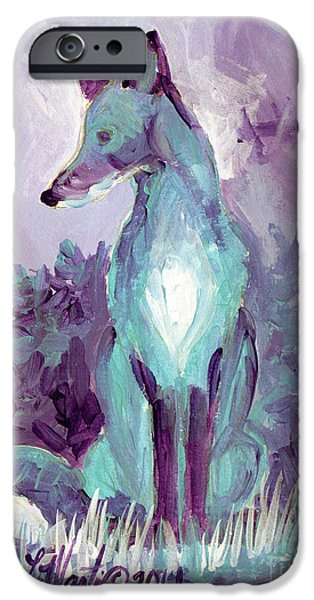 Llmartin iPhone Cases - Waiting iPhone Case by Linda L Martin