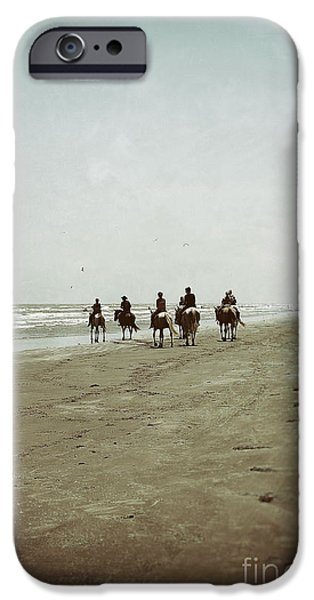Seagull iPhone Cases - Riding with the Tide iPhone Case by Trish Mistric