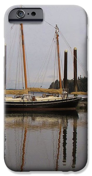 Waiting to Sail iPhone Case by Feva  Fotos