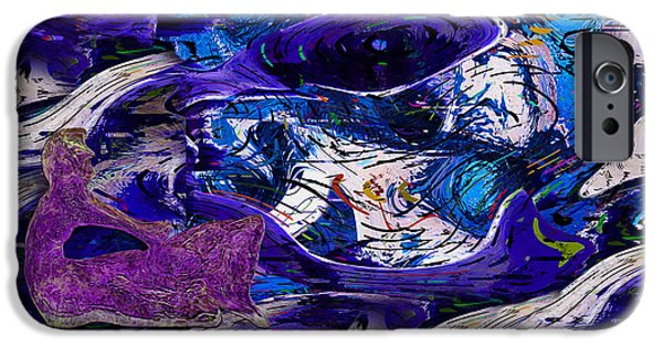 Virtual Digital iPhone Cases - Waking In A Dream iPhone Case by Jack Zulli