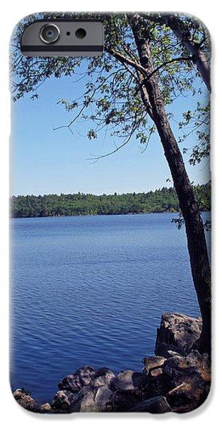 Walden Pond Saugus MA iPhone Case by Barbara McDevitt
