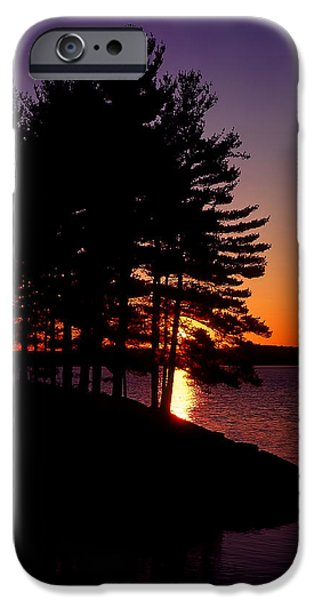 Walden Pond iPhone Cases - Walden Pond  iPhone Case by Tom Wilder
