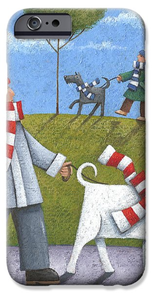 Walk In The Park iPhone Case by Peter Adderley