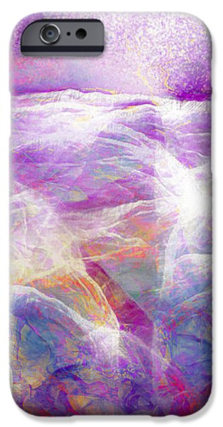Walk On Water - Abstract Art iPhone Case by Jaison Cianelli