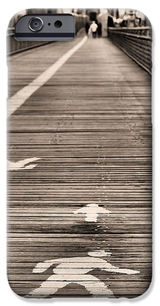Walk This Way iPhone Case by JC Findley