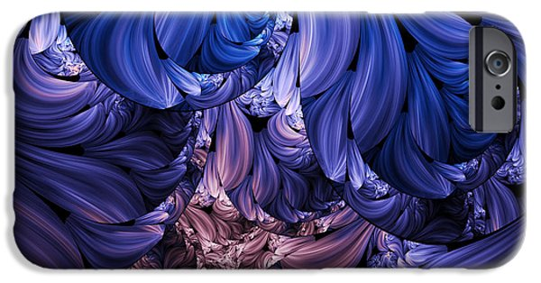 Youthful iPhone Cases - Walk Through The Petals Abstract iPhone Case by Georgiana Romanovna