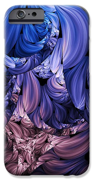 Walk Through The Petals Abstract iPhone Case by Georgiana Romanovna