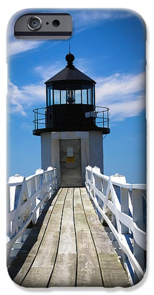 Midcoast iPhone Cases - Walk Towards The Light iPhone Case by Belinda Dodd