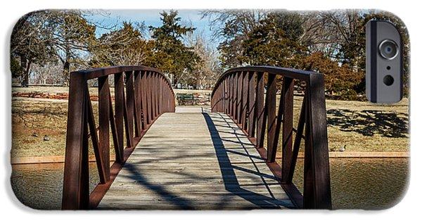 Rust iPhone Cases - Walking Bridge iPhone Case by Doug Long