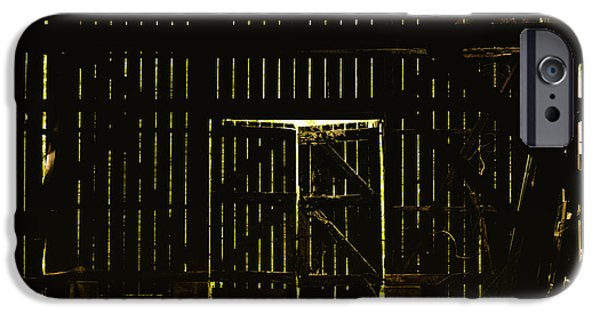 Recently Sold -  - Old Barns iPhone Cases - Walking Dead iPhone Case by Andrew Paranavitana