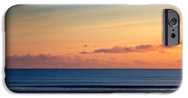 Dog Photography iPhone Cases - Walking The Dog, Tramore, County iPhone Case by Panoramic Images