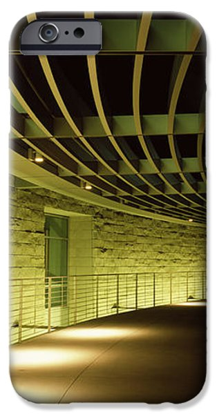 Built Structure iPhone Cases - Walkway Of A City Hall, San Jose City iPhone Case by Panoramic Images