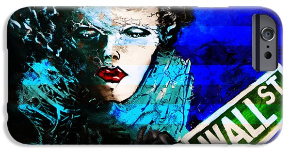 H.r. Giger iPhone Cases - Wall ST Memories  iPhone Case by Jakub DK