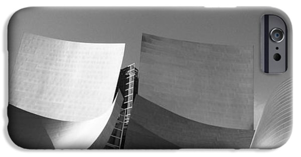 Balcony iPhone Cases - Walt Disney Concert Hall, Los Angeles iPhone Case by Panoramic Images