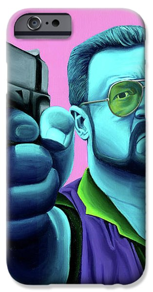 Walter  iPhone Case by Ellen Patton