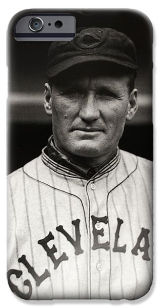 American League iPhone Cases - Walter Johnson iPhone Case by Gianfranco Weiss